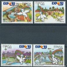 Sellos: 1990. ESPAÑA. EDIFIL 3050/53**MNH. CURRO, MASCOTA DE LA EXPO'92 DE SEVILLA.. Lote 245958805