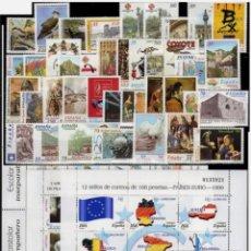 Selos: ESPAÑA, AÑO 1999 COMPLETO Y NUEVO MNH**(FOTOGRAFÍA ESTÁNDAR). Lote 261955085