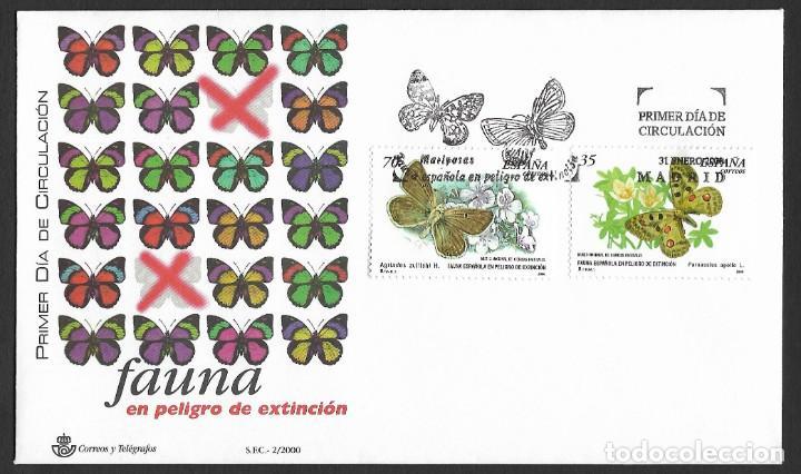ESPAÑA - SPD. EDIFIL NSº 3694/95 CON DEFECTOS AL DORSO (Sellos - España - Juan Carlos I - Desde 2.000 - Cartas)