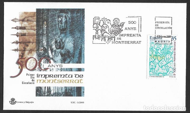 ESPAÑA - SPD. EDIFIL Nº 3696 CON DEFECTOS AL DORSO (Sellos - España - Juan Carlos I - Desde 2.000 - Cartas)
