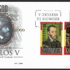 Sellos: ESPAÑA - SPD. EDIFIL NSº 3697/98 CON DEFECTOS AL DORSO. Lote 246008860