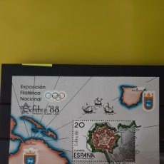 Sellos: ESPAÑA EXFILMA 1988 EDIFIL 2856 NUEVA O USADA PAMPLONA FILATELIA COLISEVM. Lote 246100400