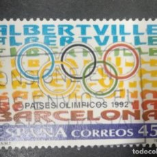Sellos: ESPAÑA 1992. EDIFIL 3211. PAÍSES OLÍMPICOS.. Lote 246149885