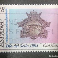 Sellos: ESPAÑA- 1993 - DIA DEL SELLO - EDIFIL 3243. Lote 246152800