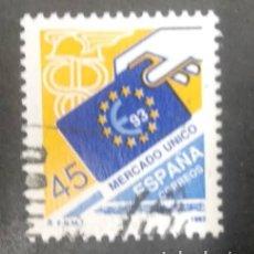 Sellos: EDIFIL 3226 ESPAÑA 1992 MERCADO ÚNICO. USADO. Lote 246153840
