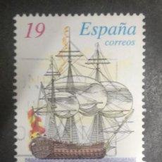 Sellos: ESPAÑA 1995. NAVIO SAN JUAN NEPOMUCENO. Lote 246160465