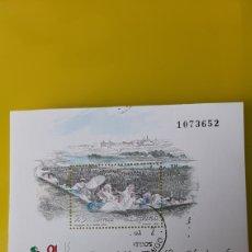 Sellos: USADO EXFILMA 1991 EXPOSICIÓN FILATÉLICA NACIONAL PRADERA SAN ISIDRO MADRID ESPAÑA. Lote 246219890