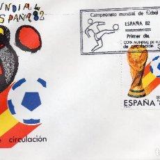 Sellos: ESPAÑA, CARTA 1982, , MICHEL 2532-2533 FDC. Lote 246244405