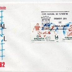 Sellos: ESPAÑA, CARTA 1982, , MICHEL 2548-2549 FDC. Lote 246244530