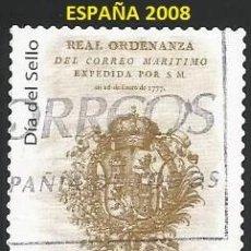 Sellos: ESPAÑA 2008 - ES 4412 - TEMA DIA DEL SELLO (VER IMAGEN) - 1 SELLO USADO. Lote 246252820