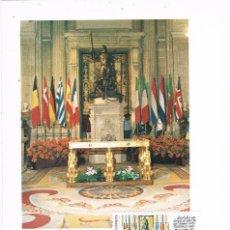 Sellos: 0917. TARJETA MAXIMA BARCELONA 1986. INGRESO PORTUGAL Y ESPAÑA EN LA C.E.. Lote 246288670