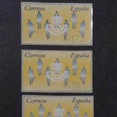 Sellos: ATM - NUEVO - ESPAÑA 1994 - SERIE 3 VALORES - SILUETAS. Lote 246350110