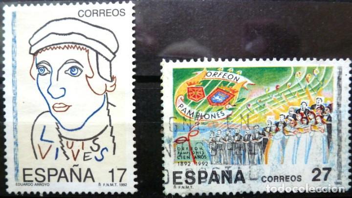 SELLOS ESPAÑA 1992 - FOTO 219 -Nº 3224 - COMPLETA. USADO (Sellos - España - Juan Carlos I - Desde 1.986 a 1.999 - Usados)
