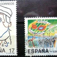 Sellos: SELLOS ESPAÑA 1992 - FOTO 219 -Nº 3224 - COMPLETA. USADO. Lote 246708770