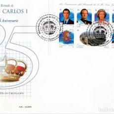 Sellos: ESPAÑA.- SOBRE DE PRIMER DIA DE 3856 REINADO DE JUAN CARLOS. Lote 247076750