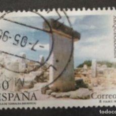 Sellos: SELLO TAULA DE TORBALBA (MENORCA) ARQUEOLOGIA 30 CORREOS ESPAÑA FNMT 1995. Lote 248092870