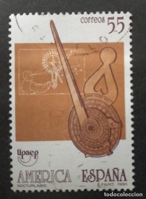 ESPAÑA 1991 EDIFIL 3141 AMERICA-ESPAÑA. (Sellos - España - Juan Carlos I - Desde 1.986 a 1.999 - Usados)
