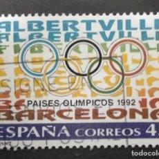 Timbres: EDIFIL 3211 ESPAÑA 1992 JUEGOS OLÍMPICOS DE VERANO E INVIERNO. USADO. Lote 248108555