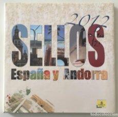 Sellos: 2012-ESPAÑA LIBRO CORREOS ESPAÑA Y ANDORRA. Lote 248155750