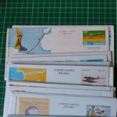 Sellos: AEROGRAMAS SERIE COMPLETA NUEVA 1982/2014 EDIFIL 203/226 FILATELIA COLISEVM COLECCIONISMO. Lote 250117560