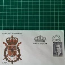 Selos: 1995 ESPAÑA DON JUAN CARLOS I REY ESPAÑA BÁSICA EDIFIL 3403 SFC A 910 USADO MATASELLO BÁSICA. Lote 250166970