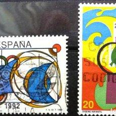 Sellos: SELLOS ESPAÑA 1989- FOTO 217-Nº 2986 - COMPLETA. USADO. Lote 251091830