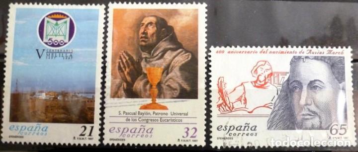 SELLOS ESPAÑA 1997 - FOTO 214 - Nº 3505, COMPLETA,USADO (Sellos - España - Juan Carlos I - Desde 1.986 a 1.999 - Usados)