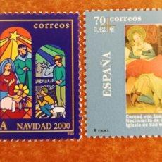 Sellos: ESPAÑA N°3769/70 MNH**(FOTOGRAFÍA REAL). Lote 251815945