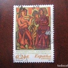 Selos: -2001,MILENARIO NACIMIENTO DE SANTO DOMINGO DE SILOS, EDIFIL 3817. Lote 252664290