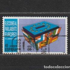 Selos: ESPAÑA. Nº 3015. AÑO 1989. ELECCIONES AL PARLAMENTO EUROPEO. USADO.. Lote 252712765