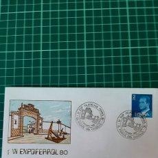 Sellos: EL FERROL DEL CAUDILLO GALICIA MATASELLO EXPOSICIÓN FILATÉLICA 1980 ALFIL FILATELIA COLISEVM. Lote 253224210