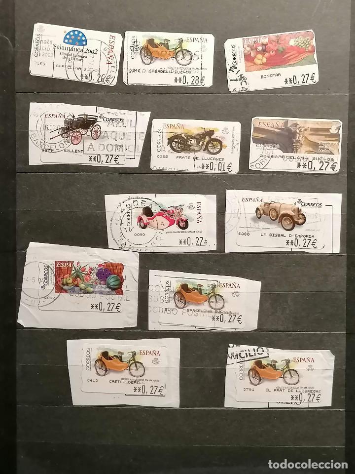 Sellos: España lote sellos Etiquetas De Distribucion usados - Foto 2 - 253508760