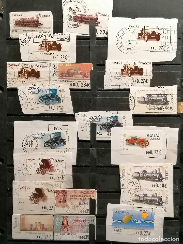 Sellos: España lote sellos Etiquetas De Distribucion usados - Foto 3 - 253508760