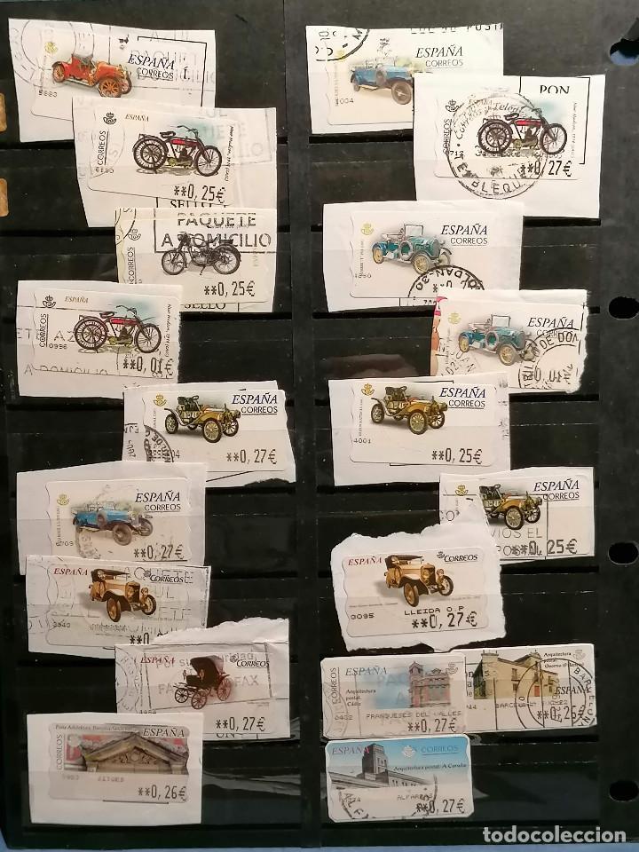 Sellos: España lote sellos Etiquetas De Distribucion usados - Foto 4 - 253508760
