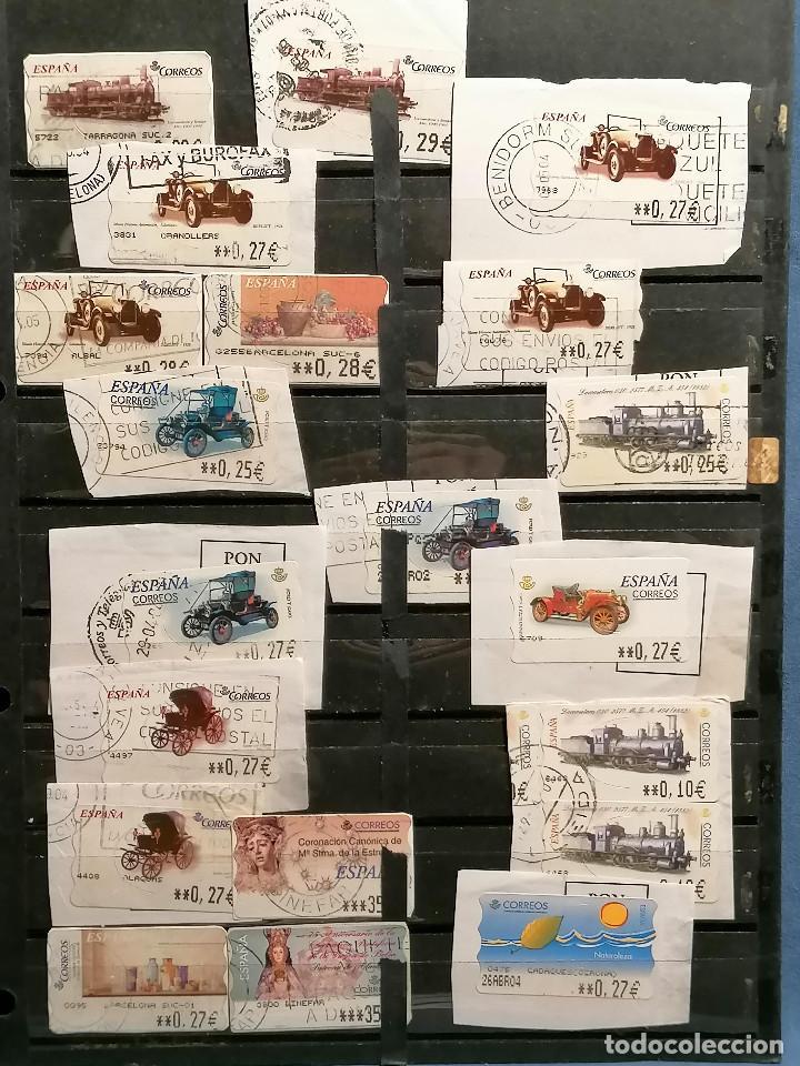 Sellos: España lote sellos Etiquetas De Distribucion usados - Foto 5 - 253508760