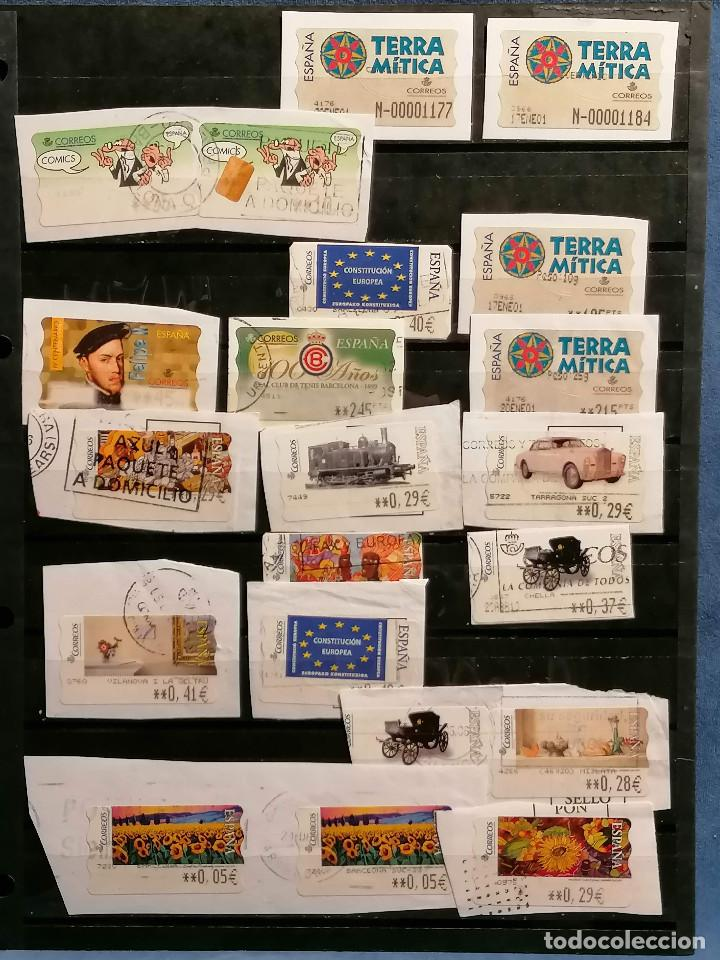 Sellos: España lote sellos Etiquetas De Distribucion usados - Foto 7 - 253508760