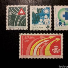 Sellos: ESPAÑA EDIFIL 3237/40 SERIE COMPLETA USADA 1993. SERVICIOS PÚBLICOS. PEDIDO MÍNIMO 3€. Lote 253943680