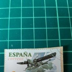Sellos: USADO LUJO EDIFIL 3907 AVIACIÓN ESPAÑOLA IBERIA ANIVERSARIO 2002 ESPAÑA FILATELIA COLISEVM COLECCION. Lote 254011345