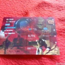 Sellos: 10- SELLO DE CORREOS DE ESPAÑA. EMISIÓN 2002. TAL CUAL SE VE.. Lote 254025385