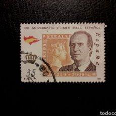 Sellos: ESPAÑA EDIFIL 3689 SELLO SUELTO USADO 2000. 150 ANIV DEL PRIMER SELLO ESPAÑOL. PEDIDO MÍNIMO 3€. Lote 254294435