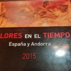 Selos: VALORES DEL TIENPO 2015 COMPLETO. Lote 254435665