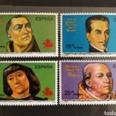 Sellos: ESPAÑA N°3137/40 MNH**V CENTENARIO DEL DESCUBRIMIENTO DE AMÉRICA 1991 (FOTOGRAFÍA ESTÁNDAR). Lote 254582910