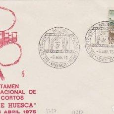 Sellos: AÑO 1975 EDIFIL 1727 III CERTAMEN INTERNACIONAL DE FILMS CORTOS HUESCA. Lote 254767210