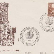 Sellos: AÑO 1976 EDIFIL 1250 I SALON MAQUINARIA Y EQUIPAMIENTO DE BODEGAS ZARAGOZA. Lote 254768710