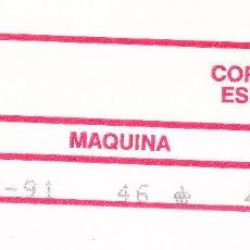 Sellos: ETIQUETA EPELSA ATM BF-10C Nº 46 ALCOY AÑO 1991 EN SOBRE COMPLETO. MUY ESCASO ESTA POBLACIÓN.. Lote 254787860