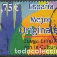Sellos: SELLO USADO ESPAÑA 2002, EDIFIL SH 3943D. Lote 254805595