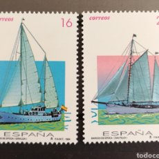 Sellos: ESPAÑA N°3314/15 MNH**BARCOS. DE ÉPOCA 1994 (FOTOGRAFÍA ESTÁNDAR). Lote 254875190