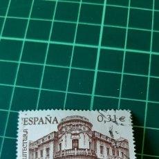 Sellos: USADO EDIFIL 4402 ARQUITECTURA PALACIO DE LANGORIA MADRID COLECCIONISMO COLISEVM FILATELIA NUMISMÁTI. Lote 254937680