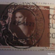 Sellos: SELLO DE ESPAÑA 1996. LOLA FLORES 30 PTS. USADO. Lote 255542325