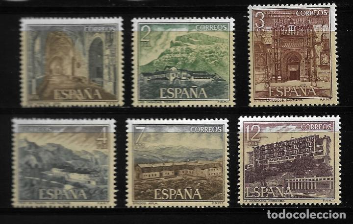 II CENTENARIO - SERIE TURISTICA - EDIFIL 2334-39 - 1976 (Sellos - España - Juan Carlos I - Desde 1.975 a 1.985 - Nuevos)